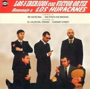 Los Cinco Ibéricos y Víctor Ortiz